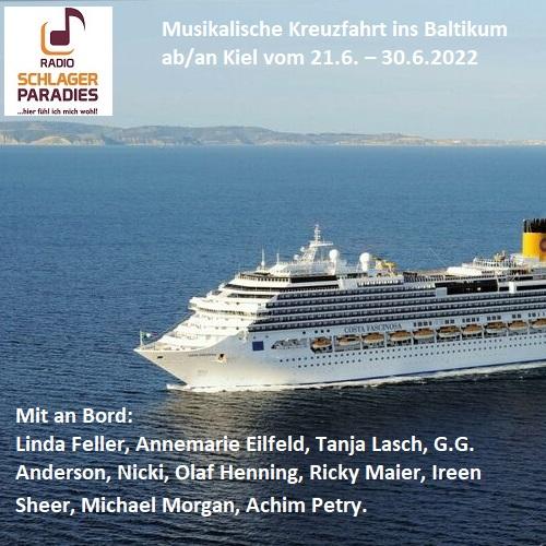 Musikalische Reise ins Baltikum 21.-30.6.22 ab/an Kiel